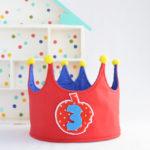 Corona de Cumpleaños de Blancanieves!