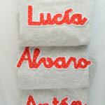 Parches y nombres listos para coser!