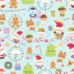 Las nuevas telas de Navidad de temporada!!!