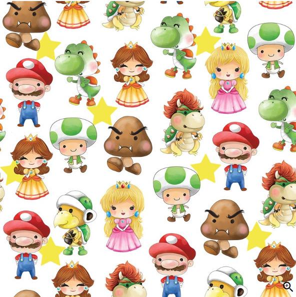 Y ya tenemos aquí a Mario Bross!!