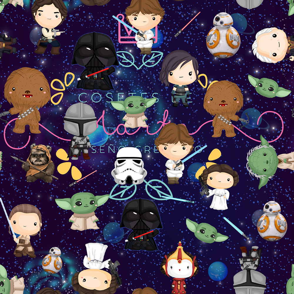 Nueva mega tela de Star Wars!!
