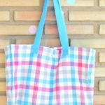 Shopping Bag de vichy de colores!!