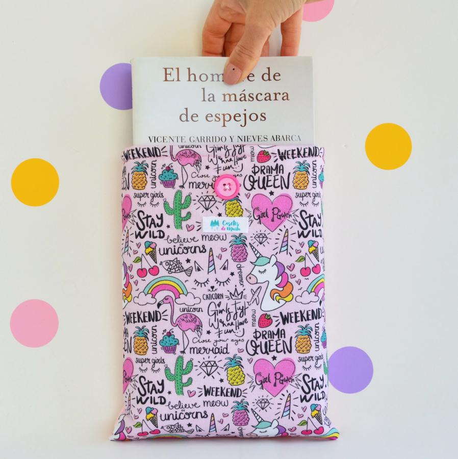 Nuevas Fundas literarias con Botón!!