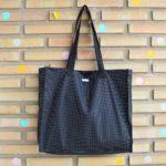 Shopping Bag Negra de topos!